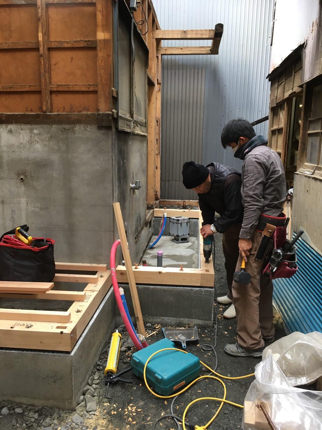 静岡市葵区 K様邸 改築 大工工事