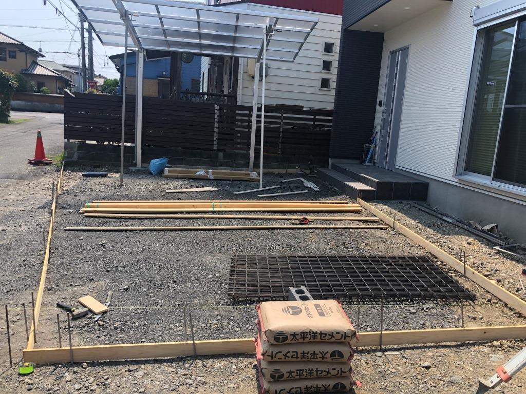 静岡市清水区追分 Y様邸 外構工事