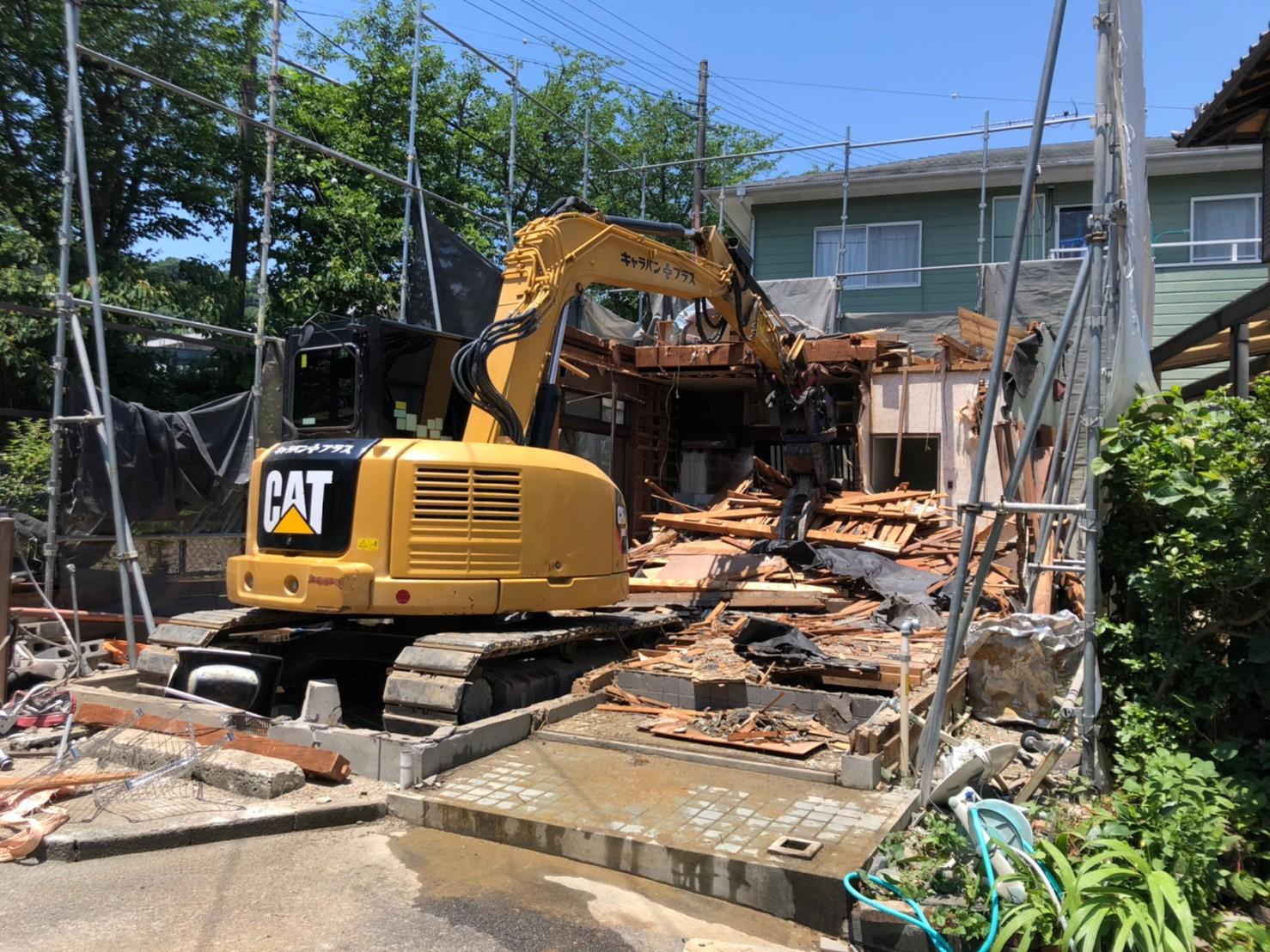 静岡市葵区北 H様邸 解体工事
