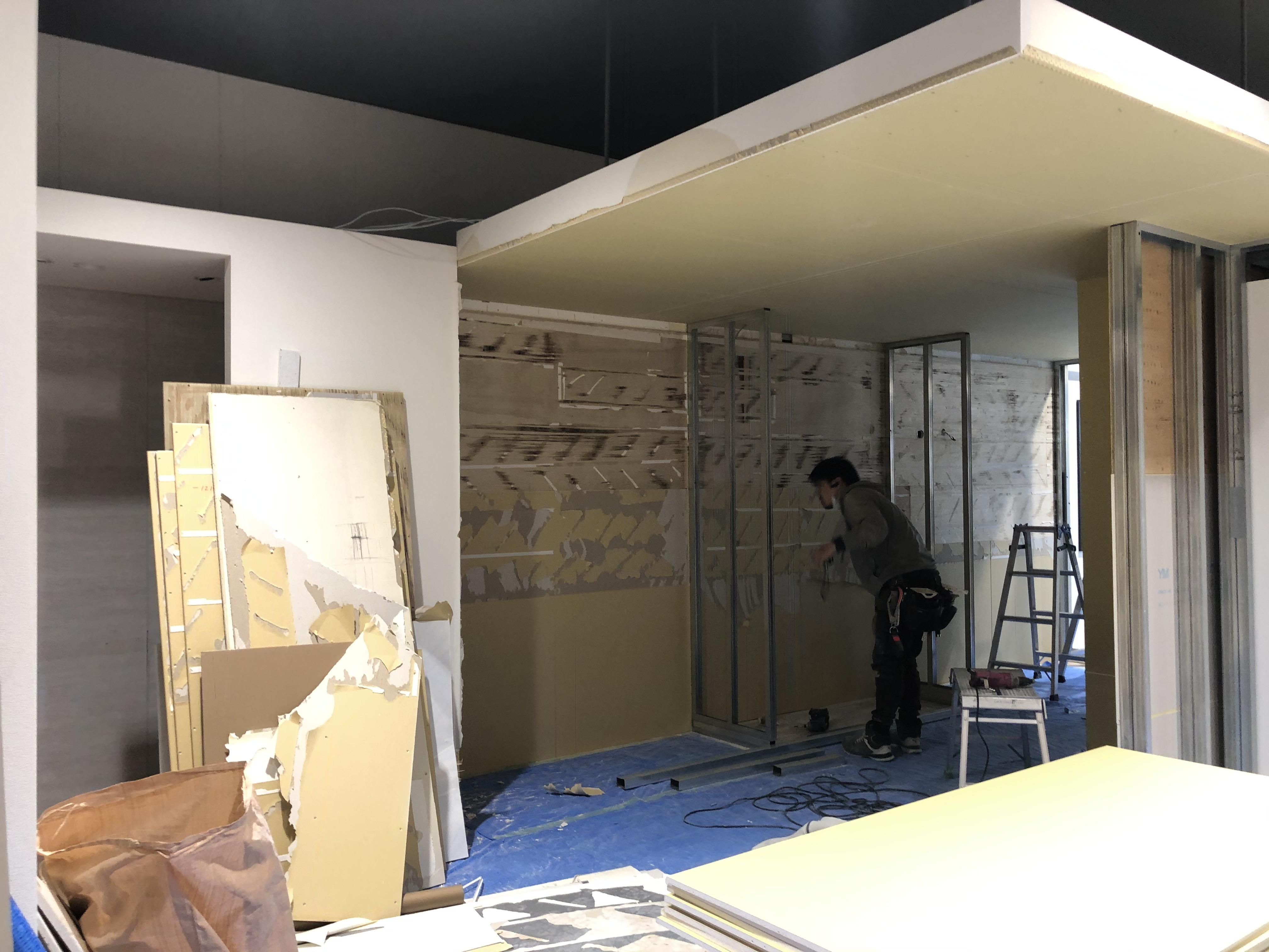 タカラスタンダード静岡ショールーム 3階改装工事