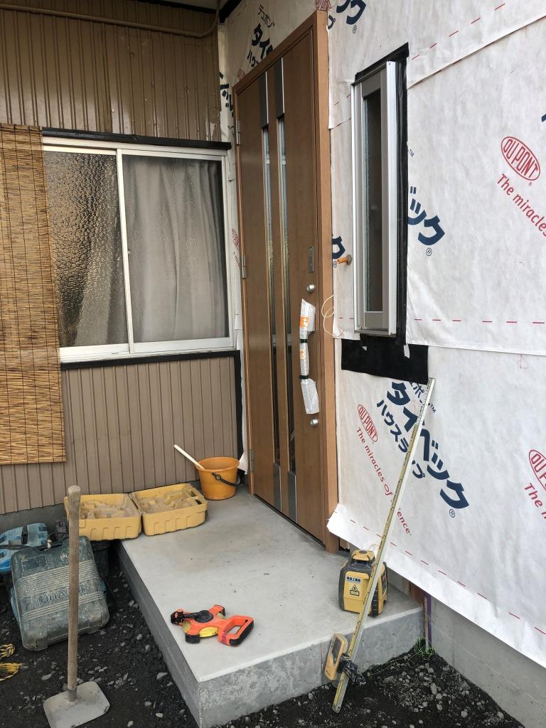 静岡市葵区 K様邸改築工事 外壁、クロス