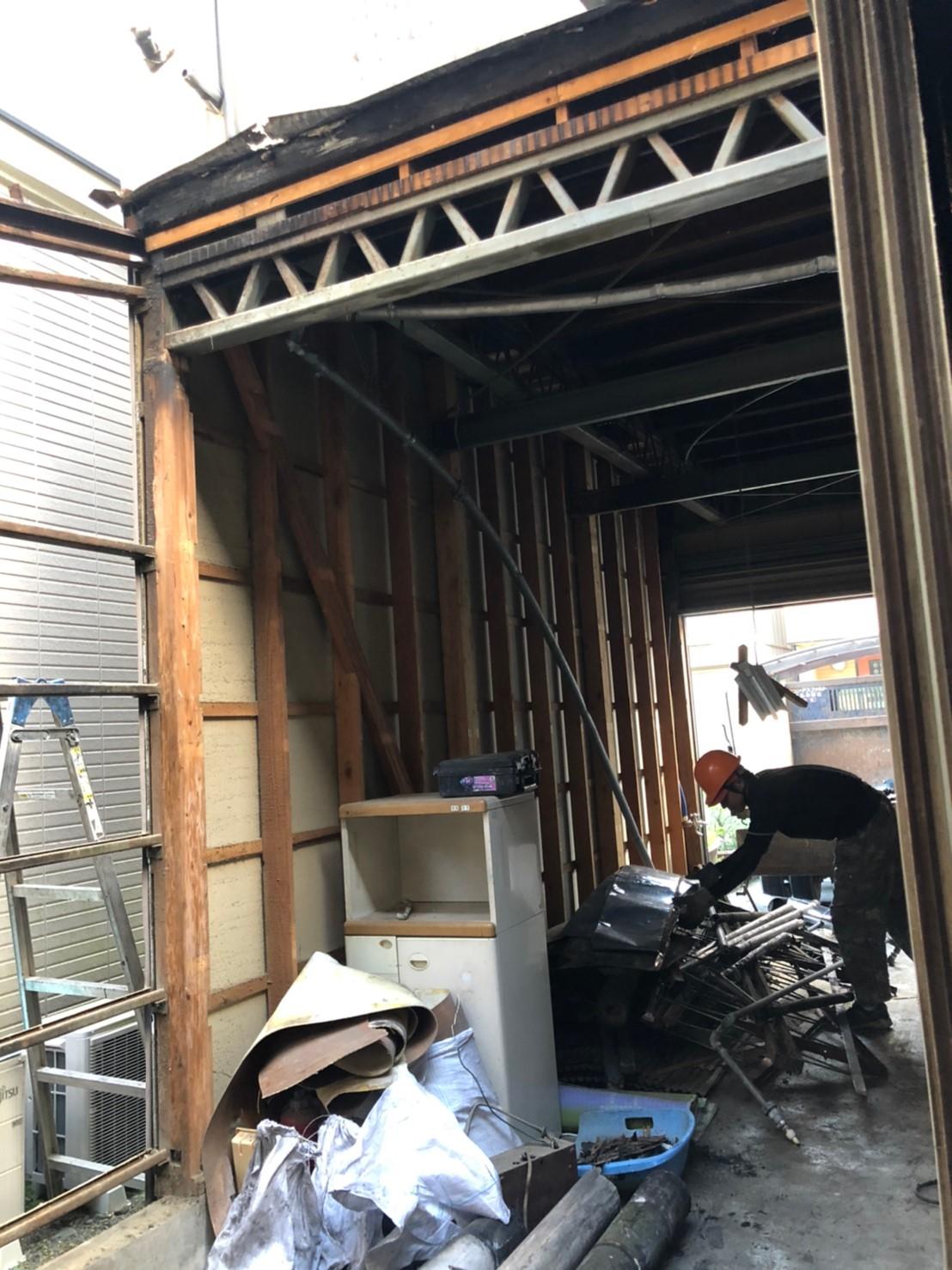 静岡市葵区 K様邸 改築工事 解体