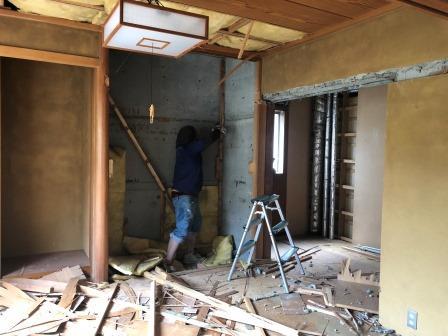 静岡市葵区上足洗 A様邸 解体工事