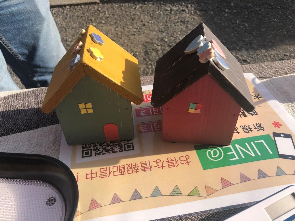 第3回 モクモクマルシェ 木のお家BOX塗装